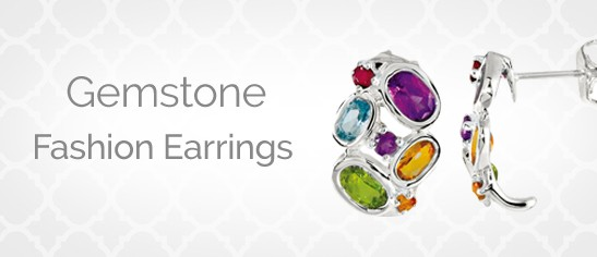 Gemstone Fashion Earrings