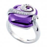 Vigne Amethyst Ring
