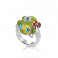 Lucky Frog Green Ring
