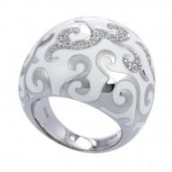 Royale White Ring