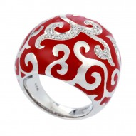 Royale Red Ring