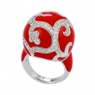 Royale Ball Red Ring
