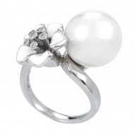 Snowdrop White Ring