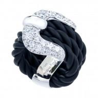 Lasso White Ring