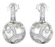 BeautyBound White Earrings