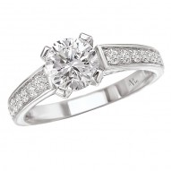 Solitaire Semi-Mount Ring