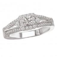 Halo Complete Diamond Ring