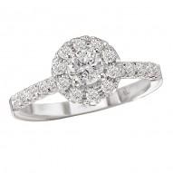 Halo Damond Ring