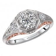 Vintage Semi-Mount Diamond Ring