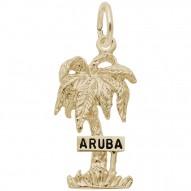 ARUBA PALM W/SIGN