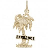 BARBADOS PALM W/SIGN