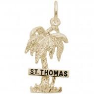 ST THOMAS PALM W/SIGN