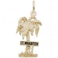 ST. MAARTEN PALM W/SIGN