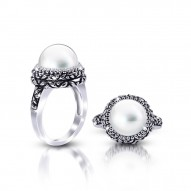 Antique Fresh Water Pearl Ring