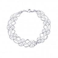 Beaded Fresh Water Pearl Bracelet