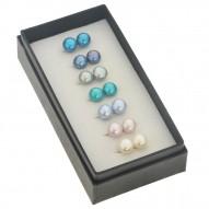 7 set Cool Multi color Fresh Water Pearl Earrings