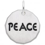 PEACE CHARM TAG