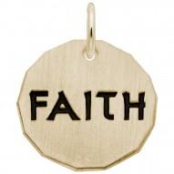 FAITH CHARM TAG