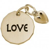 LOVE TAG W/HEART