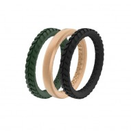 Groove Air Silicone Ring - Stackable - Aspen