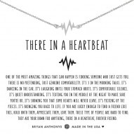 There In A Heartbeat Necklace - Finish - Silver