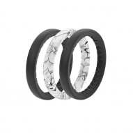 Groove Air Silicone Ring - Stackable - Rose