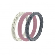 Groove Air Silicone Ring - Stackable - Serenity