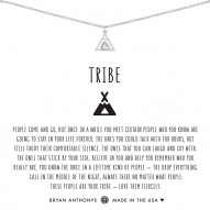 Tribe Friendship Necklace - Finish - Silver/Crystal