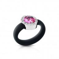 Diana Black/Pink Ring