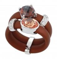 Venezia Brown/Champagne Ring