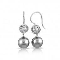Luxury Grey Earrings