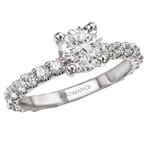 Eternity Semi-Mount Diamond Ring