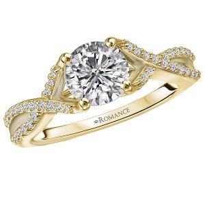 Infinity Semi-Mount Diamond Ring